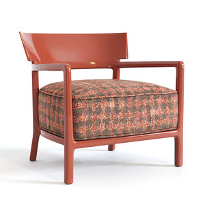 3D cara fancy kartell armchair model