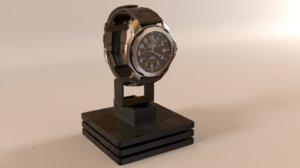 3D timex wrist watch
