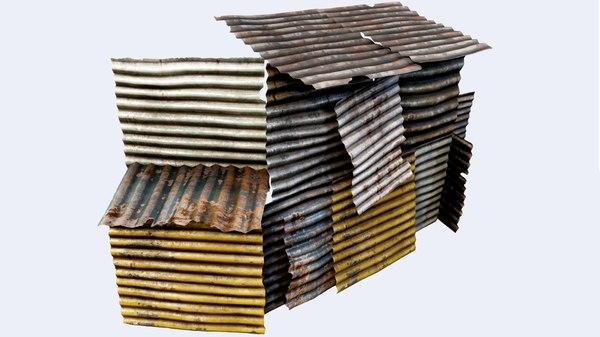 salvage metal pbr model