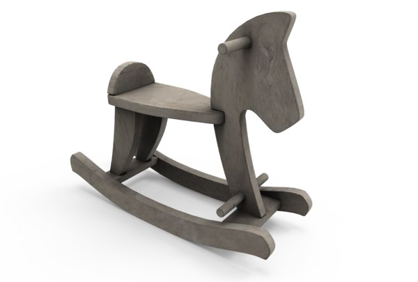 balancing horse 3D
