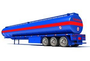 3D tank trailer