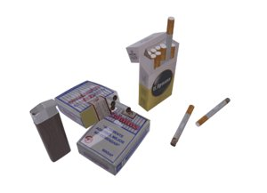 3D level cigarrs