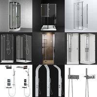 shower bath set model
