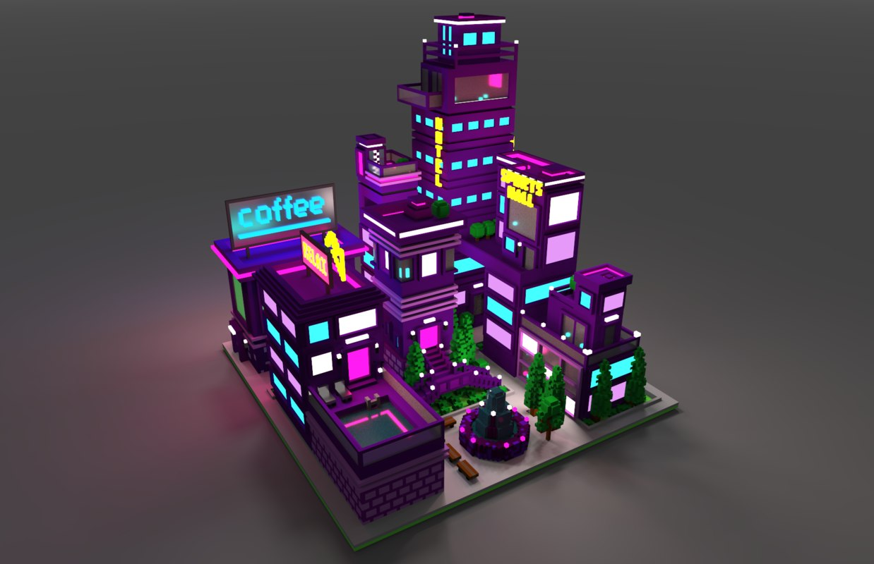 voxel 3D model