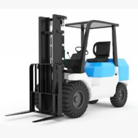 Forklift Compact Wheel Loader