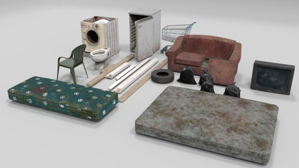 abandoned item polys model
