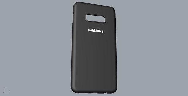 samsung galaxy s10e case 3D model