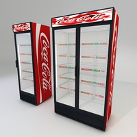 coca cola fridges 1 model