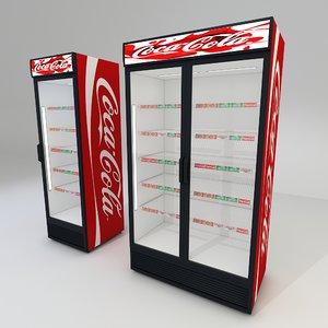 coca cola fridges 1 model