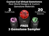 3D 3-gem sampler pack