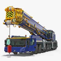 heavy duty mobile crane model