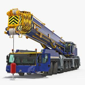 heavy duty mobile crane model