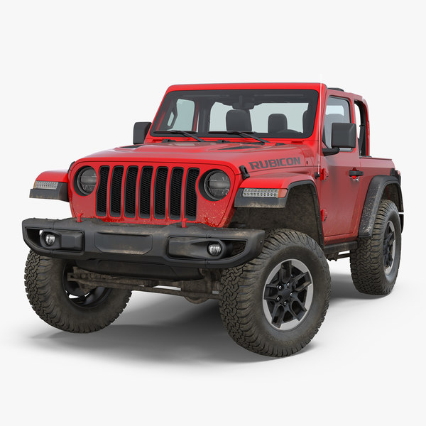jeep wrangler jk rubicon 3D model