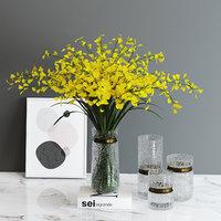 decorative set oncidium hybridum 3D model