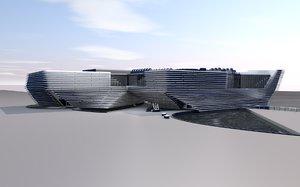 v museum dundee 3D model