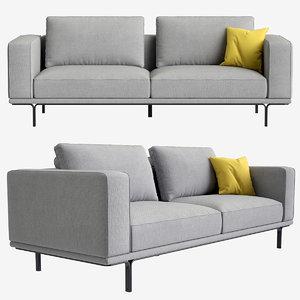 sofa nocelle 3D model
