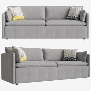 3D model sofa tibor