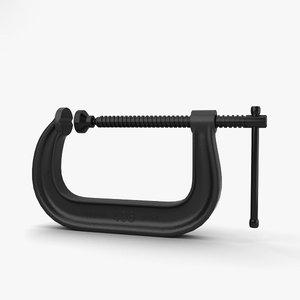 c clamp 3D