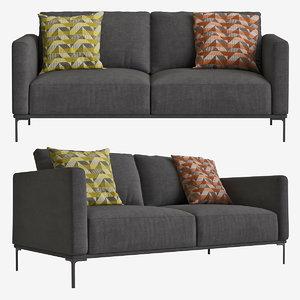 3D sofa milo model