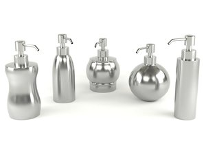 3D dispenser soap model