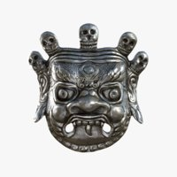 mahakala mask 3D model