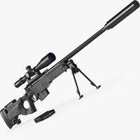 3D rifle sniper l115a3
