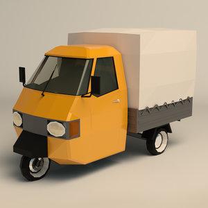 truck wheeled model