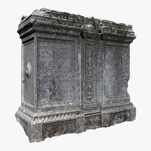 tombstone scanned ready 3D