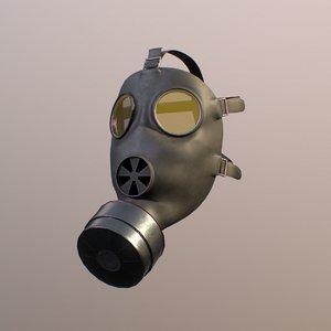 engines gas mask 3D model