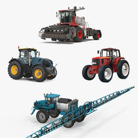 farm vehicles 2 3D