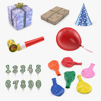 3D holiday accessories