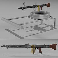 mg 42 machine gun 3D