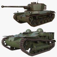 tank 005 3D model