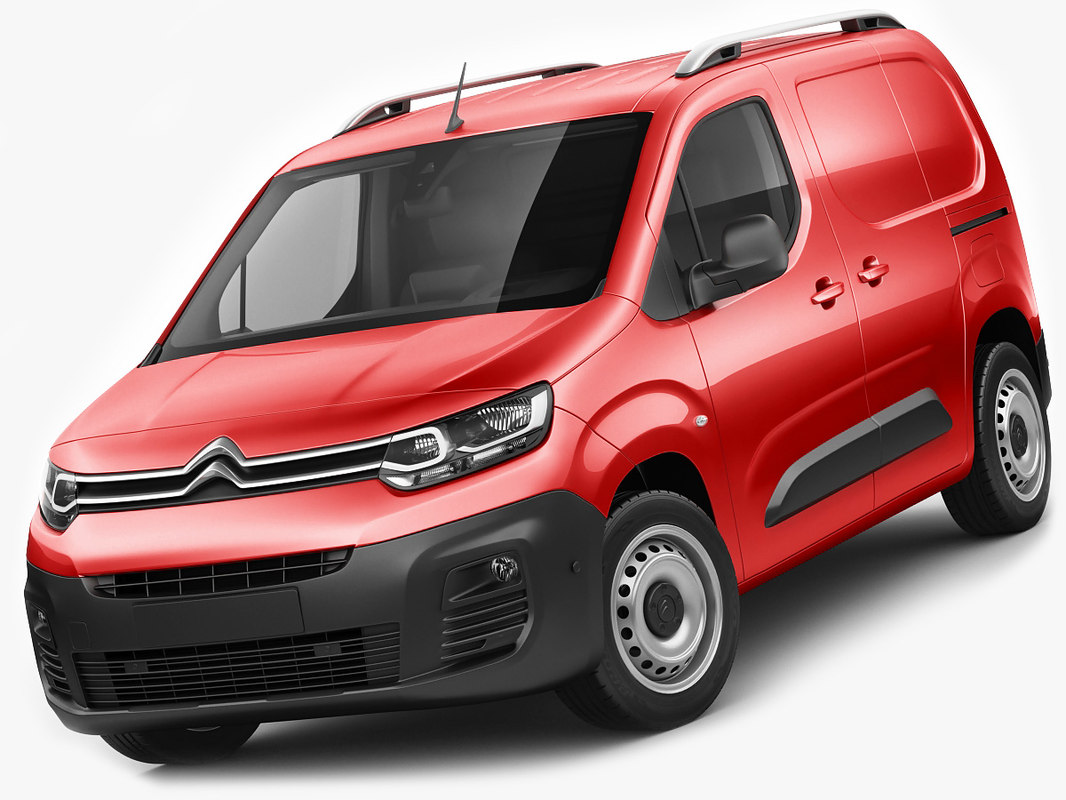 citroen berlingo van 3D model