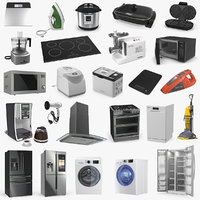 Home Appliances 3D Models Collection 2