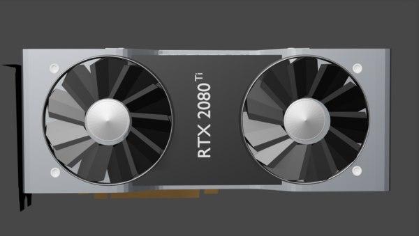 3D rtx model