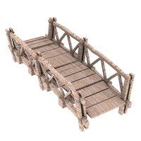 wood bridge 3D