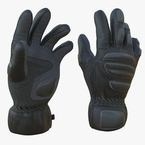 pbr glove 3D model