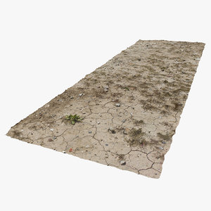 soil ground 3D model