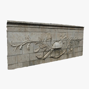 3D relief wall
