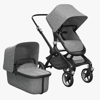 bugaboo fox bassinet 3D model
