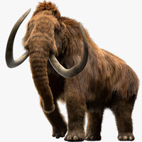 Mammoth (Fur) (Rigged)