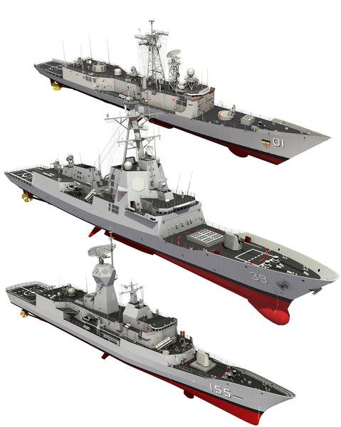 royal australian navy 3D model