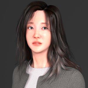 3D model characters rigging
