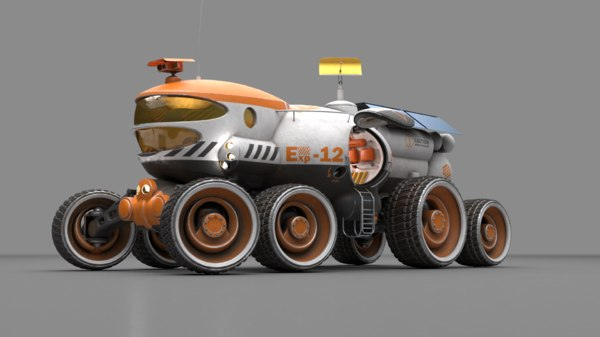 3D vehicle pbr