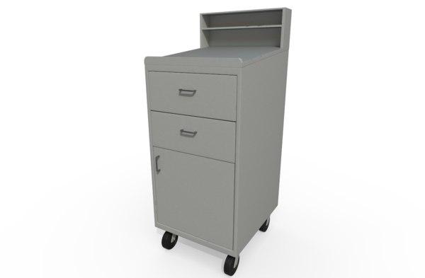 work shop desk 3D