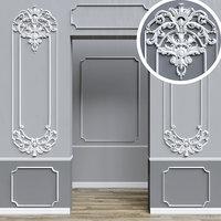 3D stucco decor model
