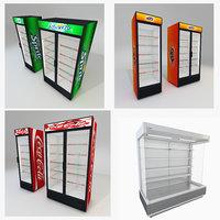 3D supermarket display stands