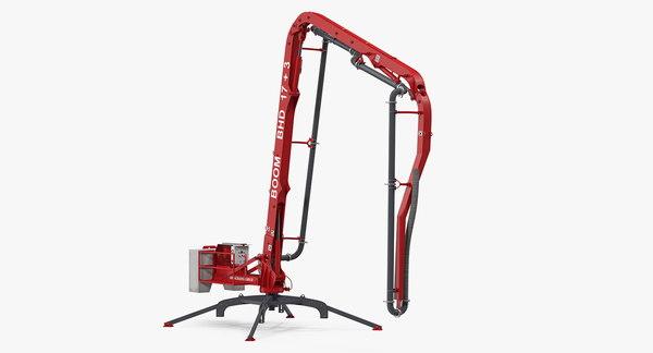 3D construction vehicles rigged big
