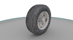 3D vehicle wheel model